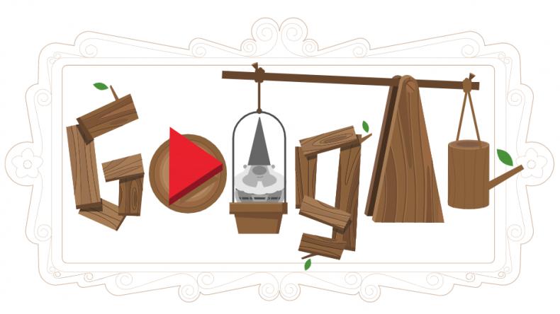 Google Doodle Popular Games Garden Gnome