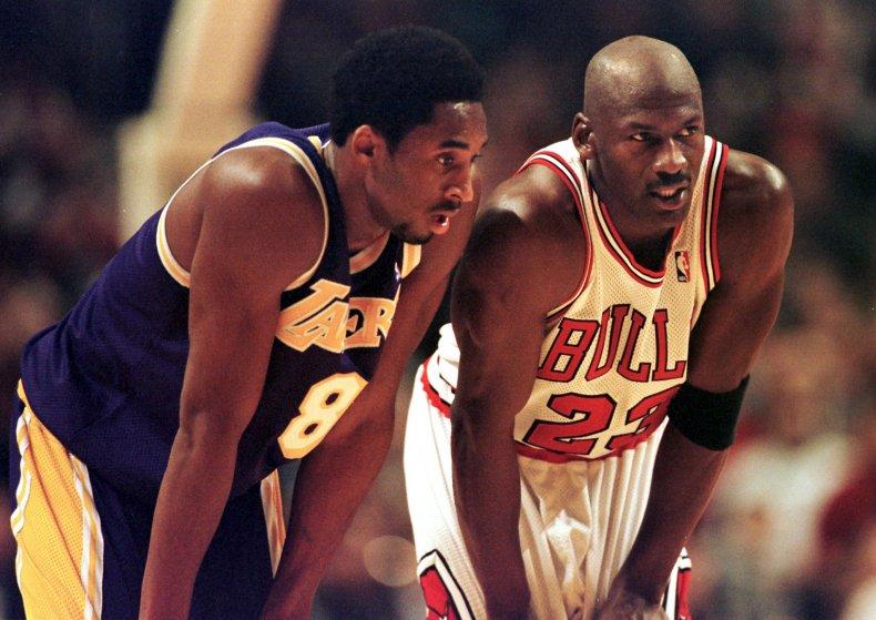 Michael Jordan, Kobe Bryant, NBA