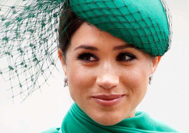 Meghan Markle at Commonwealth Day Service