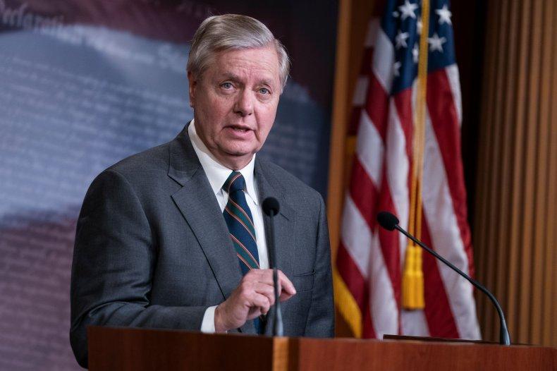 senator lindsey graham presser March 2020