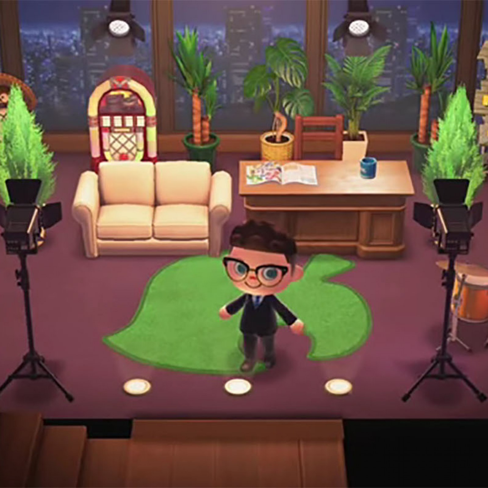 Living Room Animal Crossing New Horizons - RUNYAM on Living Room Animal Crossing New Horizons  id=46244