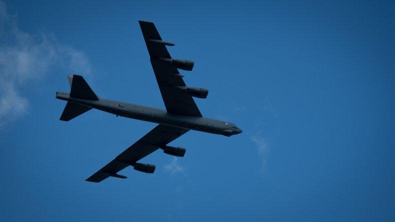 B-52 Stratofortress aircraft bomber