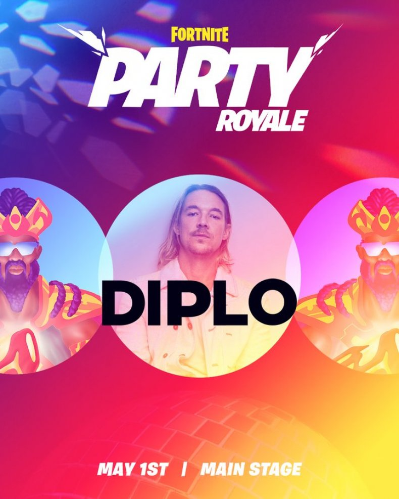 fortnite party royale event