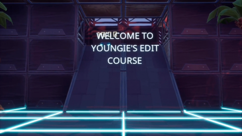 fortnite only edit course