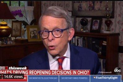 ohio governor mike dewine coronavirus