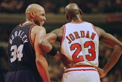 Charles Barkley, Michael Jordan