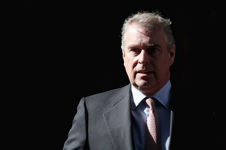 Prince Andrew Visits Crossrail in London