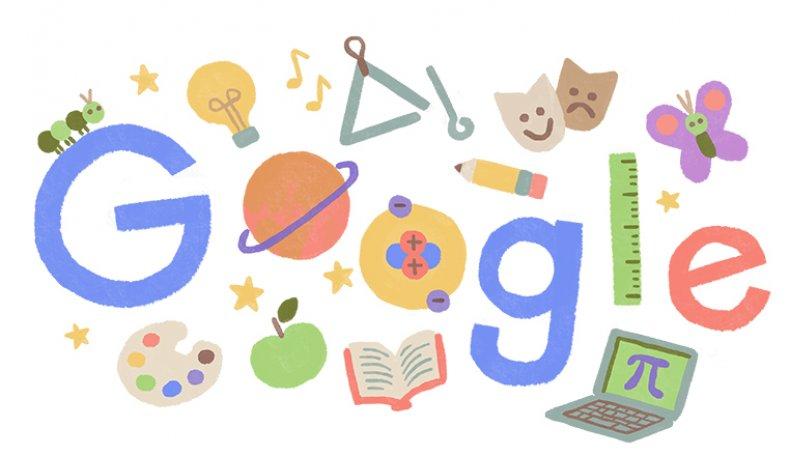 Google Doodle U.S. Teachers Appreciation Week