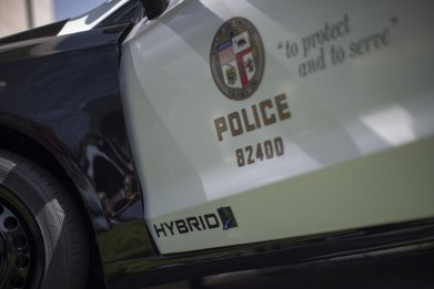 Los Angeles Police Department patrol car