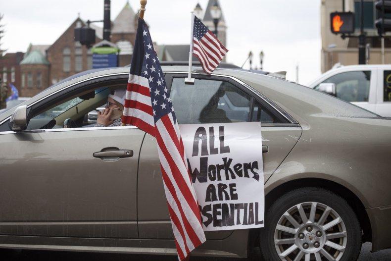Michigan Protests, Coronavirus