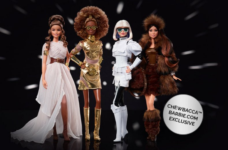 Star Wars Barbie Dolls