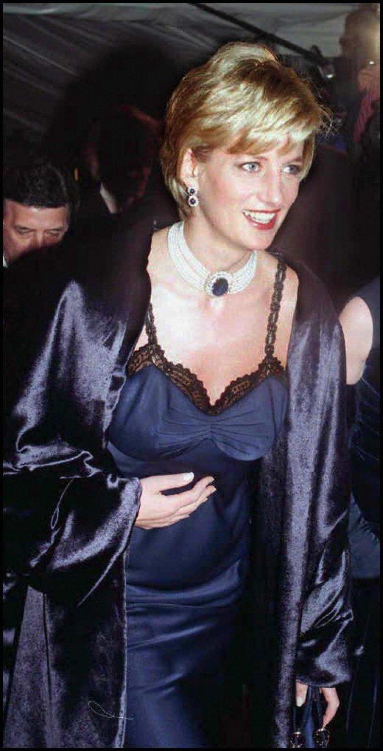 Princess Diana 1996 Met Gala