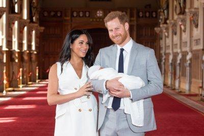 Baby Archie birth photo