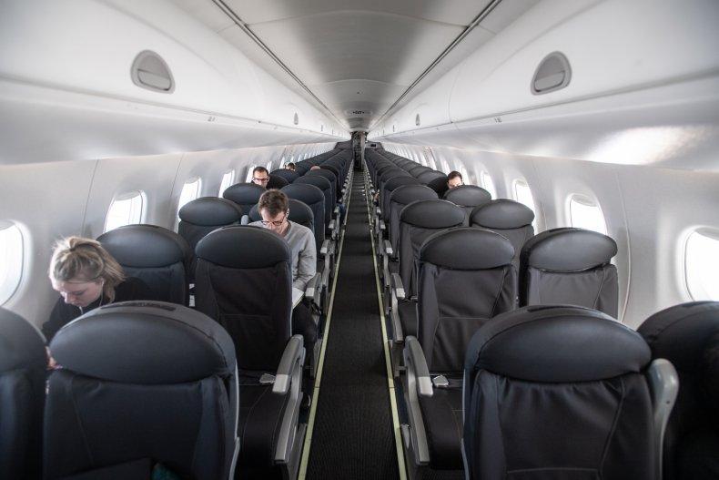British Airways, empty plane, March 2020