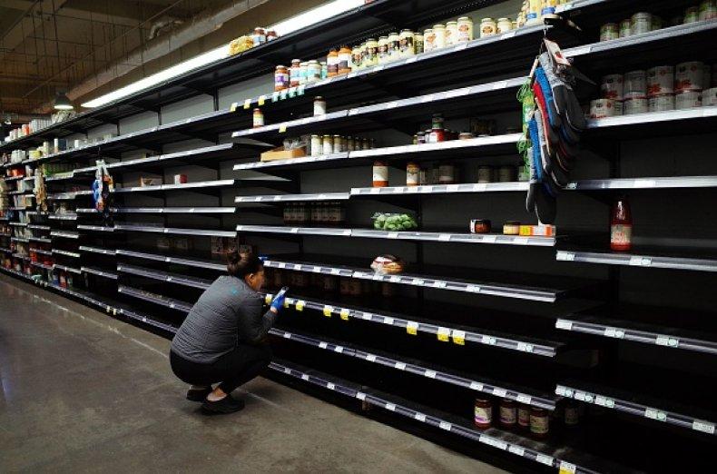 grocery store coronavirus Maryland