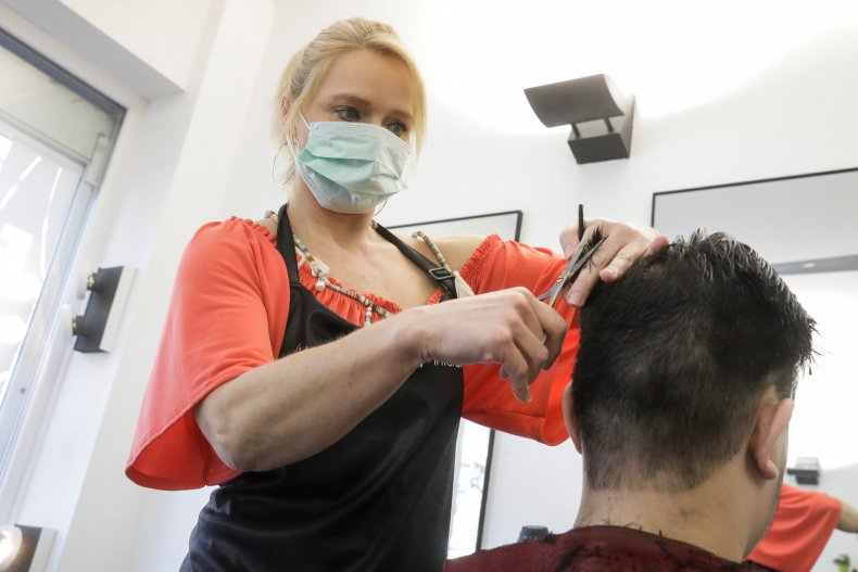 beauty salon hairdresser