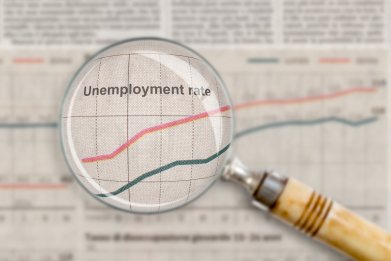 Unemployment rate across US