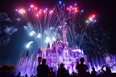 Shanghai Disneyland in China on June 16, 2017