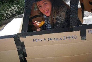Cardboard car 1