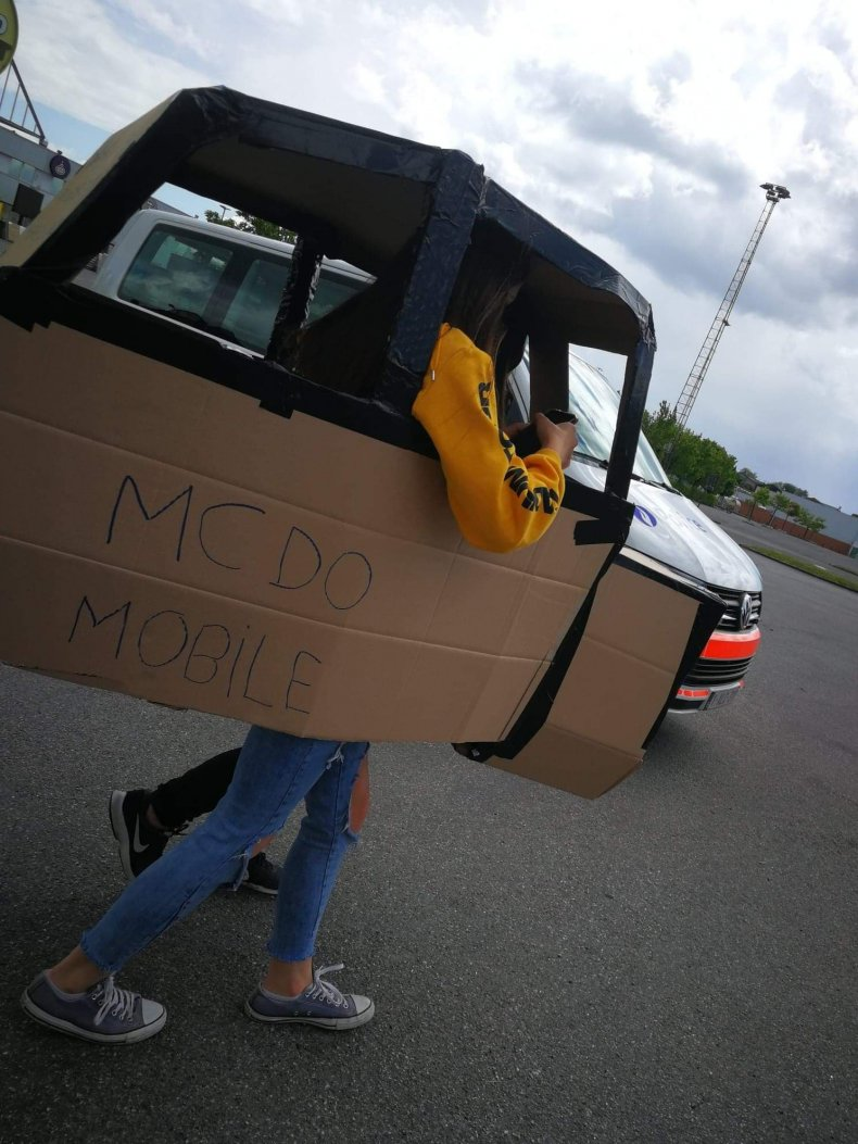Cardboard car 2