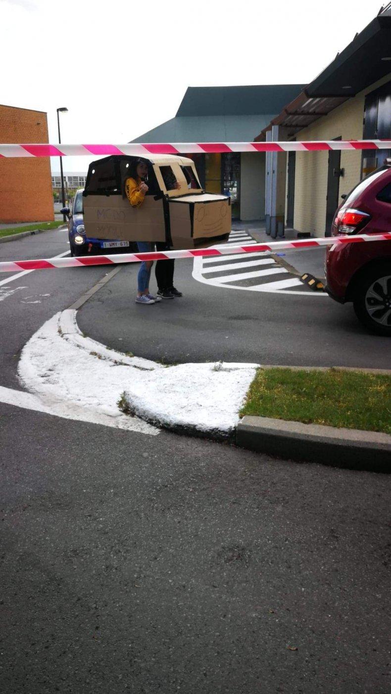 Cardboard car 3
