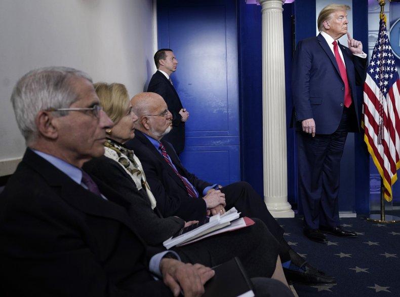 trump says coronavirus task force remain indefinitely