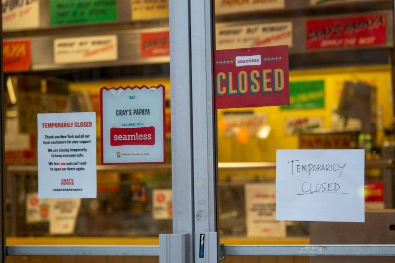 closed small business coronavirus