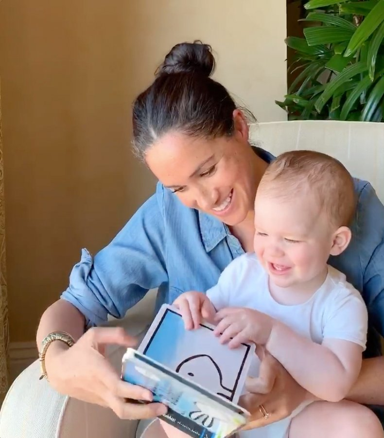 Meghan Markle Baby Archie Save With Stories