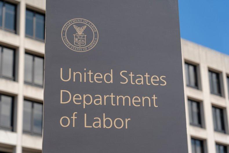 U.S. Department of Labor, Washington D.C.