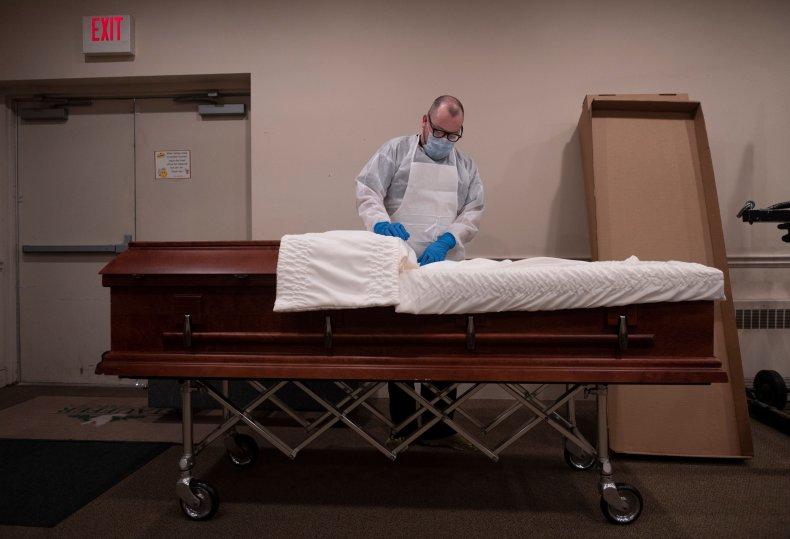 coronavirus deaths projections united states