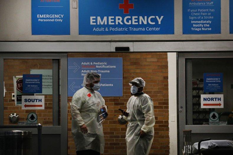 medical workers coronavirus brooklyn