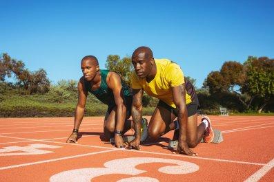 Paralympic Sprinter David Brown