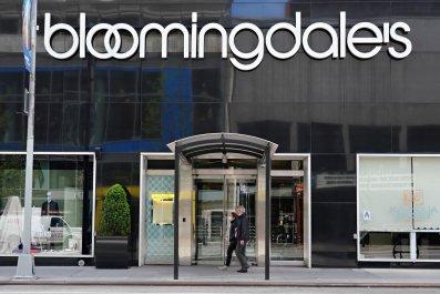 Bloomingdale's, New York City, April 2020