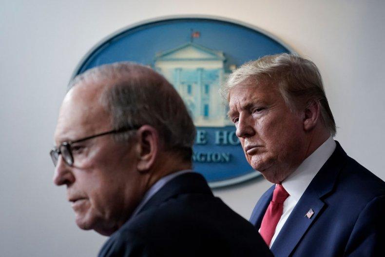Larry Kudlow and Donald Trump