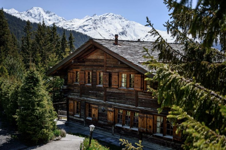 Prince Andrew's Verbier Chalet Helora