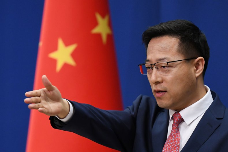 China, US, Zhao Lijian, journalists, reporters, visas