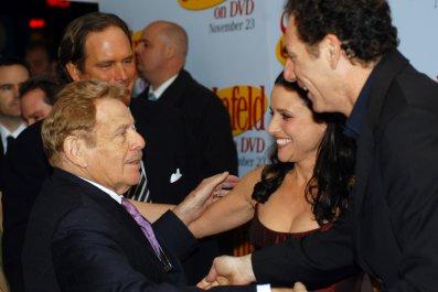 Jerry Stiller, Julia Louis-Dreyfus and Michael Richards