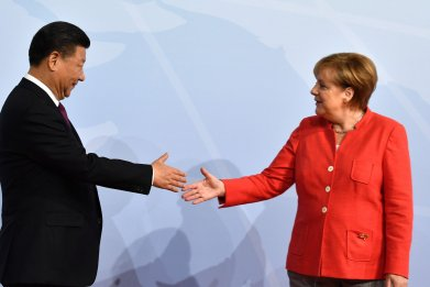 Angela Merkel, Xi Jinping, coronavirus, China, Germany