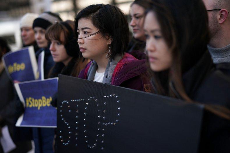 Students protest Title IX