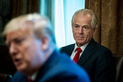 Donald Trump and Peter Navarro