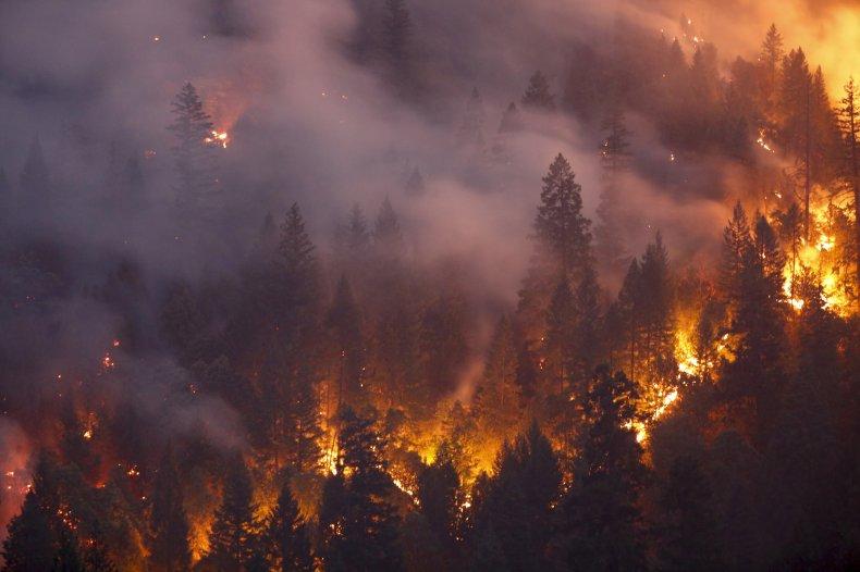 Wildfires in U.S.
