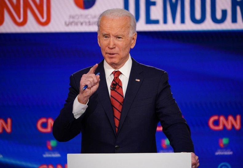 Vice Presidential nominee Joe Biden