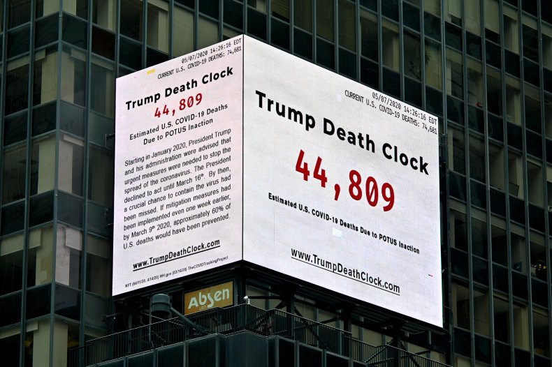 Trump Death Clock