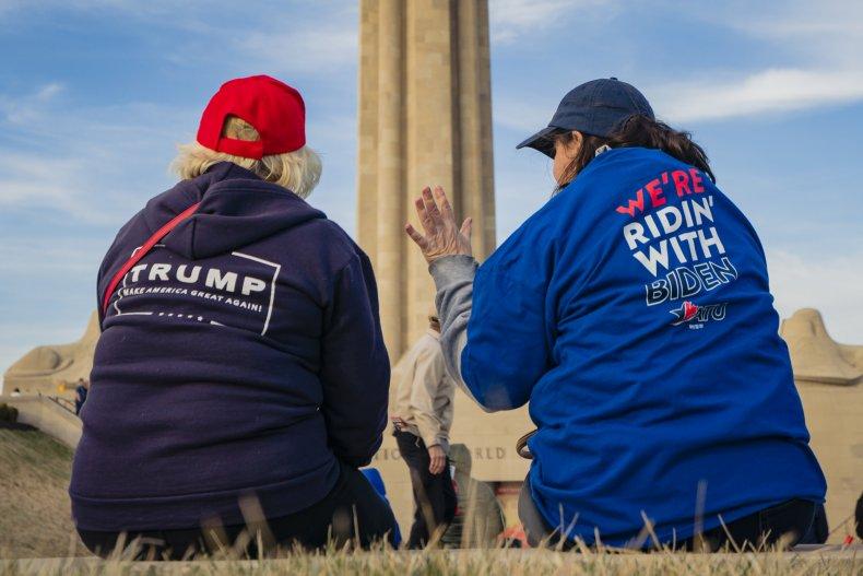 Trump biden supporters