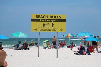 Indian Shores beach
