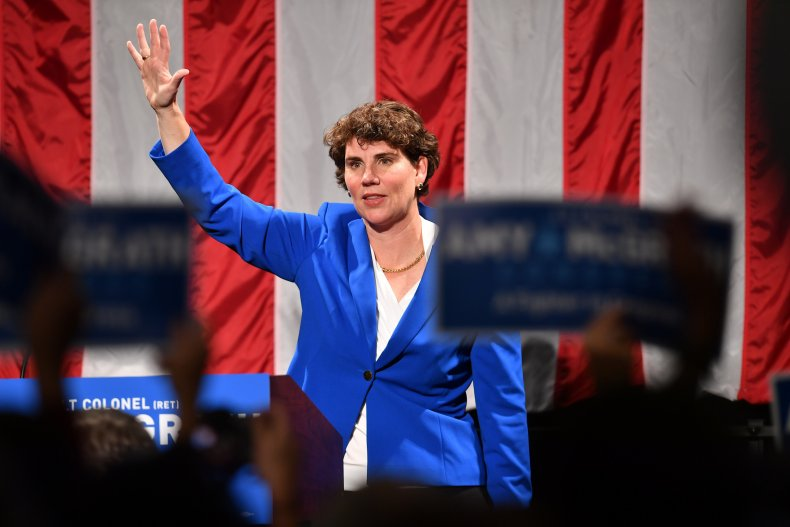 amy mcgrath election night loss 2018