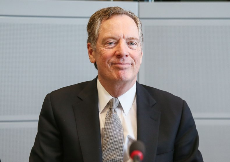 U.S trade representative Robert Lighthizer