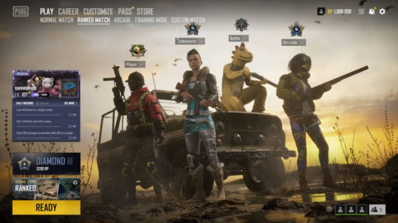 pubg update 7.2 patch notes ranked