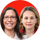 Julie Smith and Laura Rosenberger