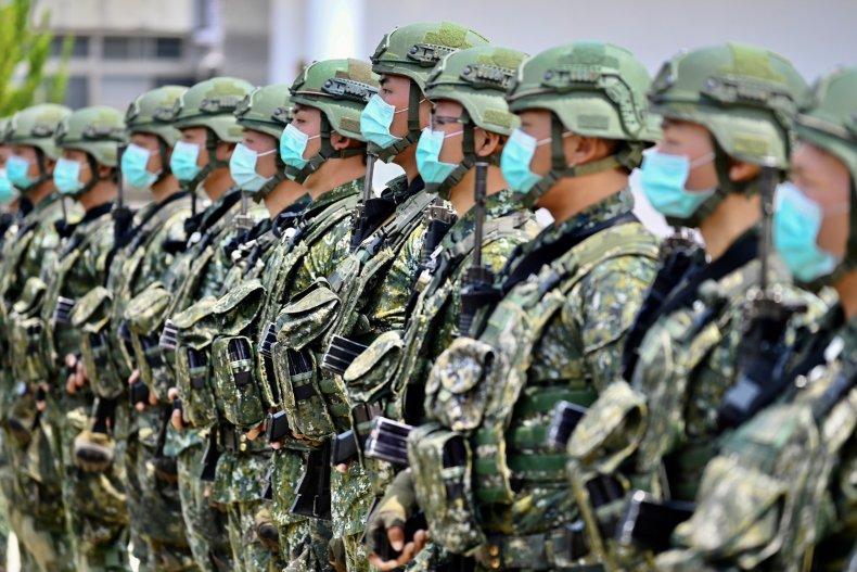 taiwan, military, china, coronavirus, covid-19